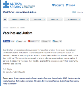 AS backpedals on vaccines